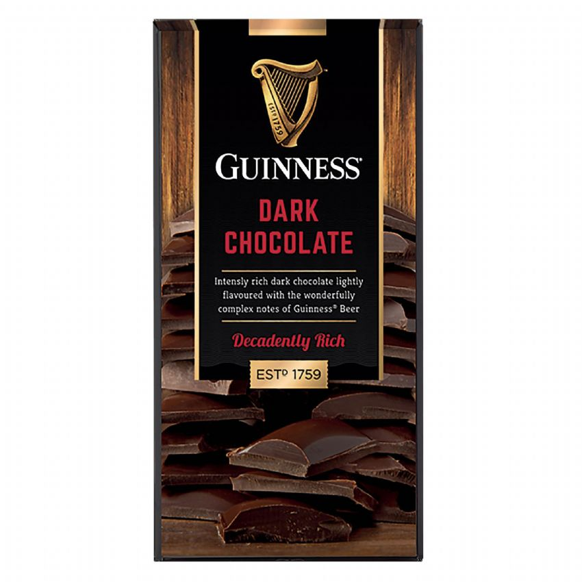 Guinness - Solid Dark Chocolate Bar Lir 90g
